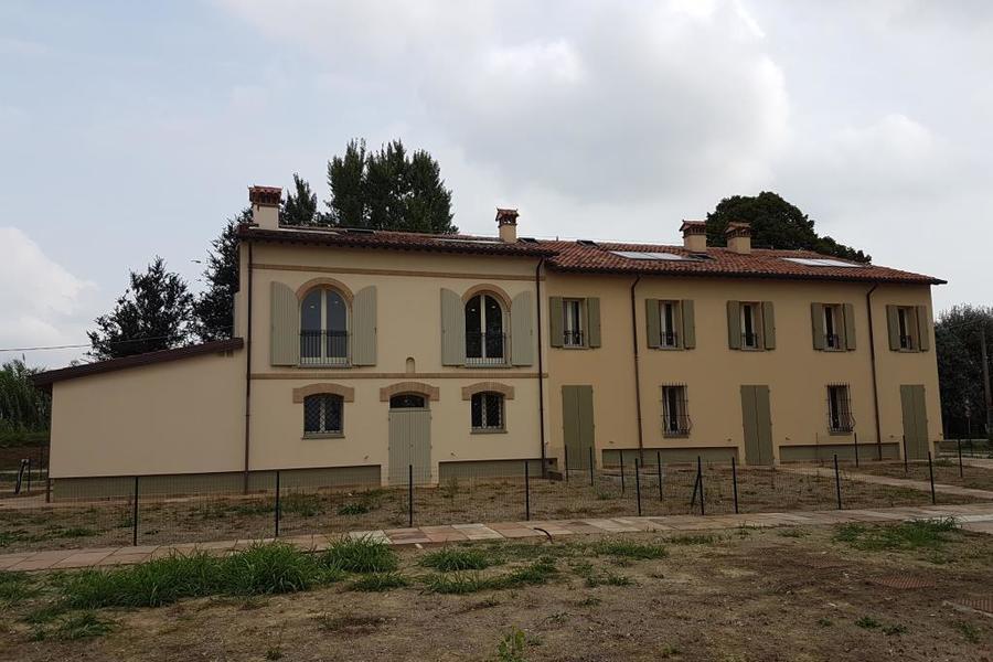 fotografie - Villa a schiera Cotignola (RA) Barbiano